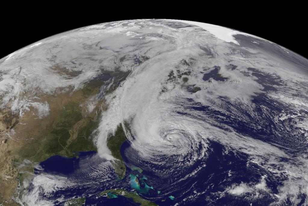 GOES View of Hurricane Sandy