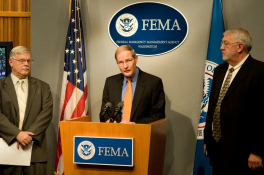 FEMA press conference on the 2008 Midwest Floods