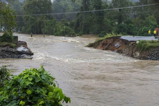 Columbia, South Carolina, October 5 levee breach