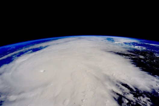 Huricane Patricia viewed from International Space Station on October 23, 2015 - NASA