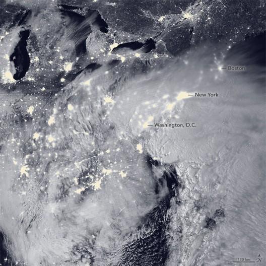 Winter storm Jonas, January 23 2016