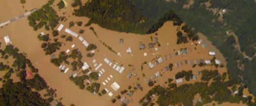 Port Vincent, Lousiana, after August 2016 flooding