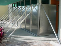 Flood Panel, a flood barrier