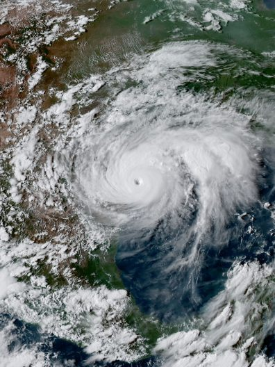 Hurricane Harvey - NOAA Satellite Image