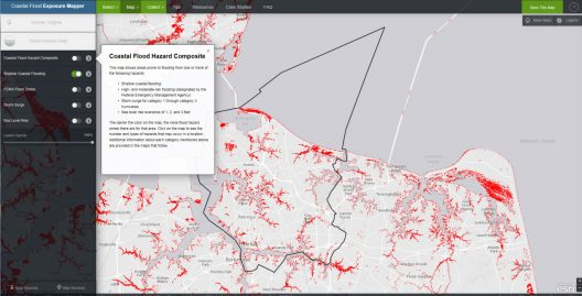 NOAA's Coastal Flood Exposure Mapper